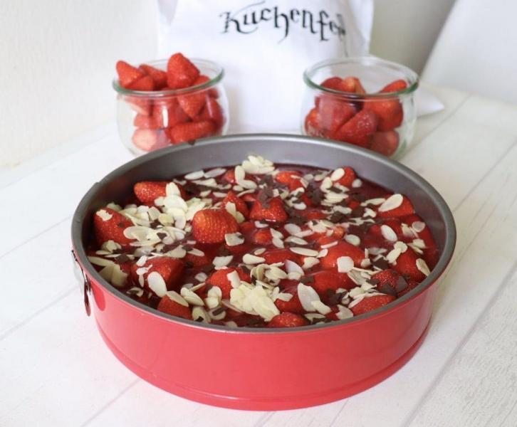 Rezept gesunder Kuchen Obst